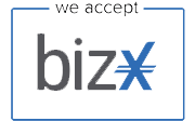 We Accept BizX - The Cashless Economy
